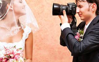 Фотосъемка на свадьбу недорого
