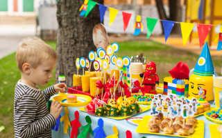 Идеи дня рождения лего