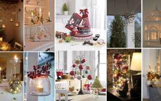 Украшение зала на рождество