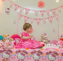 С днем рождения на годик девочке родителям
