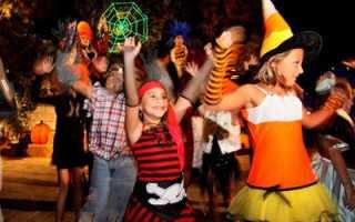 Сценарий хэллоуина для старшеклассников смешной