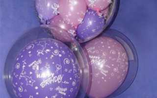 Как украсить праздник шарами своими руками