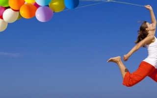 День рождения с воздушными шарами идеи