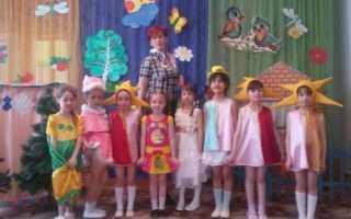 Сценарий детям о театре
