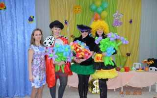 Муха цокотуха театральная постановка в детском саду