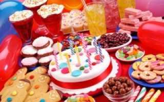 Детский праздничный стол своими руками