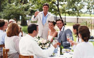 Оригинально поздравить молодых на свадьбе с сюрпризом
