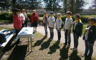 Квест в лагере для подростков