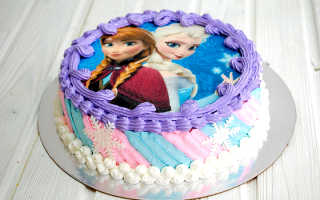 Тортик с фотопечатью