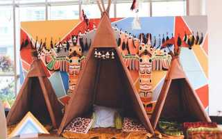 Детская вечеринка в стиле индейцев