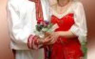 Сценарий русско народной свадьбы