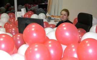 Как украсить кабинет учителя на день рождения