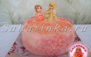 Идеи торта на крестины девочки