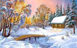 Игра зимний сад