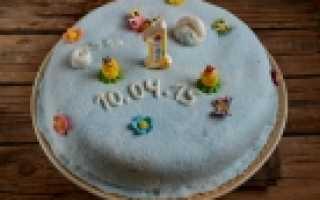 Торт для мальчика 3 года