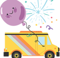 Как красиво надуть шарики на день рождения