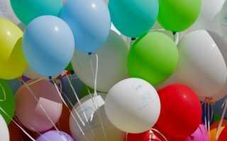 Как сделать композицию из шаров без гелия