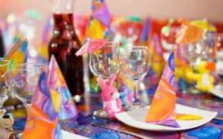 Декор детской вечеринки