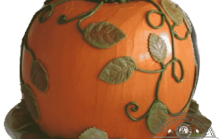 Детский торт на хэллоуин