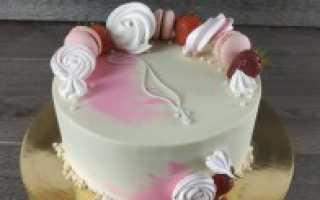 Тортик на крестины девочке фото