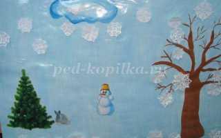 Зимние развлечения в детском саду