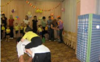 Спортивное мероприятие в детском саду с родителями