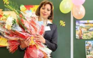 Как поздравить учителя с днем рождения сценарий