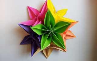 Объемные цветы для декора своими руками