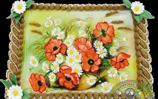 Торт с фотопечатью на день рождения