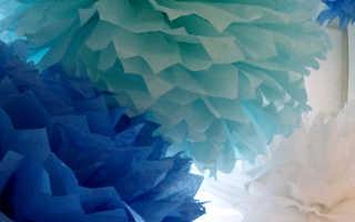 Украшение зала цветами из бумаги фото