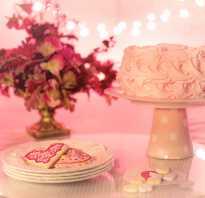 Как красиво вынести торт на юбилей