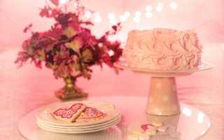 Как подать торт на юбилей